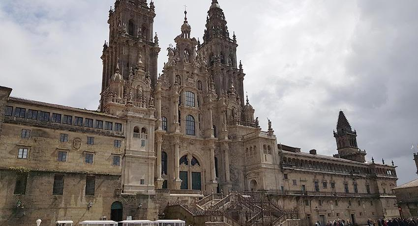 cathedral of Santiago facade